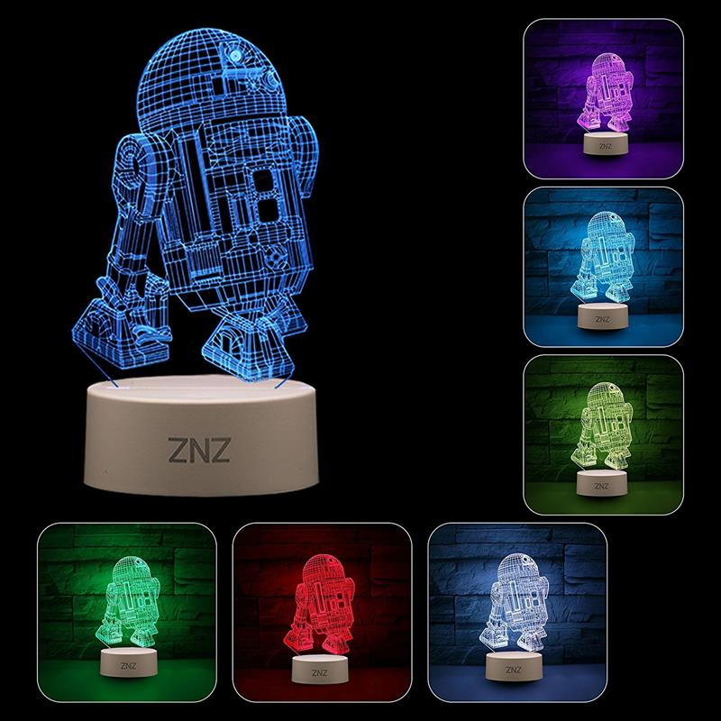 star wars lampara led regalo low cost